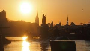 Sonnenaufgang_Hamburg